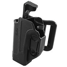 Orpaz Glock 19 Left Hand Holster Glock 17 Level 2 Thumb Release Belt Holster