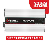 Taramps MD 8000.1 2 Ohms Amplifier 8000 Watts RMS 1 Channel