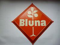 Bluna Original altes Blechschild 1960er Jahre  Afric-Cola   Limonade  TOP  Kult
