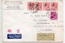 Japón Sobre circulado a Alemania año 1968 (DS-444)