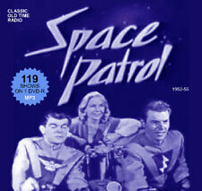 Space Patrol - 119 OTR Sci-Fi Shows on DVD-R Old Time Radio MP3s