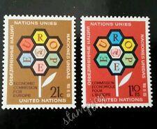 United Nation Economic Commission 1972 Flower Flora (stamp) MNH