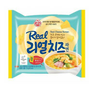 [OTTOGI] Real Cheese Ramen Korean Instant Noodle Ramyun 1Pack