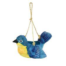 Rcs Gifts Flying Bluebird Bird Feeder - Hanging Resin Decorative Bird Feeder