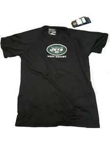 """Under armour nfl combine Ny JETS """"Make History"""" Dri-fit Shirt Youth Large  NWT"""