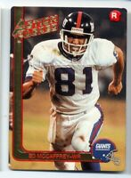 1991 Action Packed Update ED McCAFFREY Rookie Card RC #23 New York Giants 91