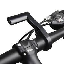 Mountain Bike Handlebar Extension Mount Flashlight Holder Handle Bar Accessories