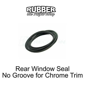 1975 - 1993 Dodge Truck Rear Window Seal - No Groove for Trim