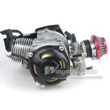 47CC 2 stroke Electric Start Engine Motor Pocket Mini Scooter ATV 7T 25H Chain