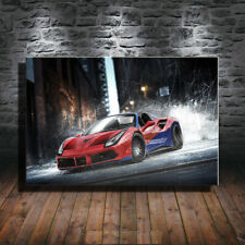 Collect Art Print Oil Painting on Canvas Wall Decoration,Ferrari-Spiderman
