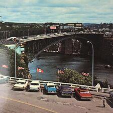 Canada New Brunswick Postcard Vintage Reversing Falls Lancaster Saint John