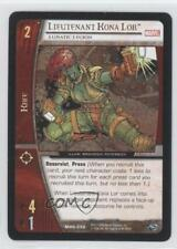 2006 Booster Pack Base #MHG-056 Lieutenant Kona Lor (Lunatic Legion) Card 3v2