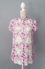 CLASS ROBERTO CAVALLI Bluse Shirt Hemd Tunika Gr. I 40 D 34 - 36  tolles Muster