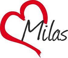 """AUTO Adesivo """"Milas"""" sticker città Turchia circa 9x10cm contorno tagliati"""