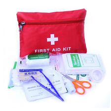 34Stk Erste Hilfe Notfall Werkzeug Auto Home medizinischen Camping Büro Reise