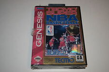Tecmo Super NBA Basketball Sega Genesis Video Game New in Box Sealed