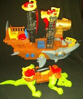 2015 Mattel Pirate Ship And Alligator Great condition
