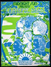 Grateful Dead - scarce original handbill - August 4-7, 1974