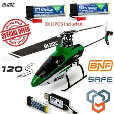 Blade BLH4180 120 S BNF Helicopter with SAFE® Technology w/ 3X Lipo Battery