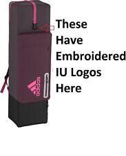 NWT ADIDAS Pink Ricred Indiana University IU Climacool Field Hockey HY Kit Bag