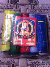 Tibetan Buddhist Prayer Flags BANDERAS DE ORACION TIBETANA 10x10cm NEPAL