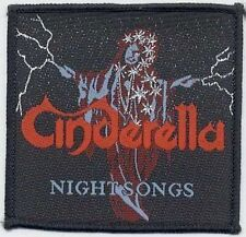 CINDERELLA 'NIGHT SONGS'  vintage woven  patch