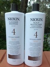 2017 Nioxin System 4 Cleanser Sham + Scalp Thera Conditioner - Litre Pack1000ml