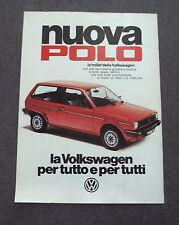G208-Advertising Pubblicità - 1982 - VOLKSWAGEN NUOVA POLO