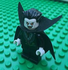 Lego Monster Fighters DRACULA Halloween Vampire Vampyre Cape Minifig Minifigure