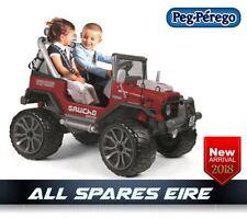 Peg Perego 12V Gaucho Grande Jeep SUV Toy Batteria Elettrico Rideon Bambini