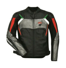 Ducati Corse Motorcycle racing Leather Jacket Motorbike cowhide 2018