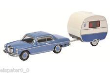 Mercedes-Benz /8 mit Wohnwagen Knaus Art.-Nr. 452615200, Schuco Modell 1:87