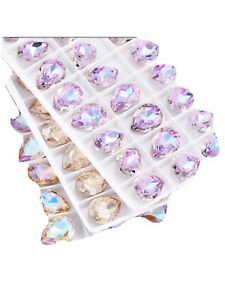 New Arrival CRYSTALS SIZE 10Pcs Super Shine UK Seller Fast Shipping
