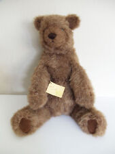 """VTG HANDCRAFTED BEARS & THINGS LARGE 18"""" PLUSH STUFFED TEDDY BEAR VANCOUVER WA"""