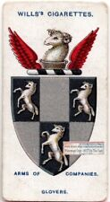 Worshipful Company of Glovers Guild  London England 100+ Y/O Trade Ad Card