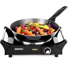 Duronic Hot Plate Hob Cooker Portable Plug In Table Top Single Electric Stove Uk