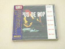 STAN GETZ - OPUS DE BOP - JAPAN CD 1991 SAVOY JAZZ W/OBI - NEW! SEALED! COCY9005
