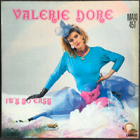 """Valerie Dore 12"""" It's So Easy - France"""