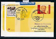 97801) AUA Olympiade So-LP Wien - Athen 13.8.2004, GA Belgien, R!