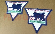 F.A. Premier League Gold Soccer Patch / Badge 2001-2002 Manchester United Jersey