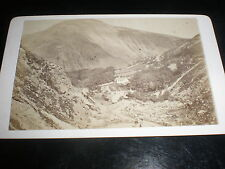 Cdv old photograph a valley village near Penmaenmawr by Jamblin c1870s