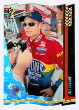 Jeff Gordon 1997 SP 2 Flag Super Series Gold Die Cut Parallel Insert Card Double