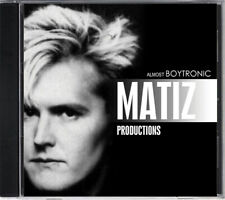 MATIZ PRODUCTIONS  (ALMOST BOYTRONIC)   CD