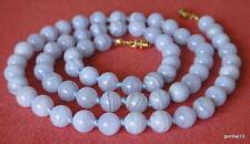 Bigiotteria blu con pietra di agata