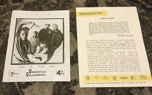 FREESTYLE FELLOWSHIP 1993 PRESS KIT PHOTO RAP HIP HOP Innercity Griots Aceyalone
