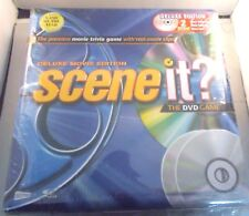 SCENE IT? DELUXE MOVIE EDITION - 2 DVD GAME IN TIN WITH FILM CLIPS - NEW