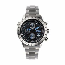 Fila  Men's Chronograph Silver Stainless Steel 38-007-004 Watch - RRP £ 199