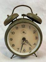 Vintage Windup Alarm Clock West Germany - Not Working? 434