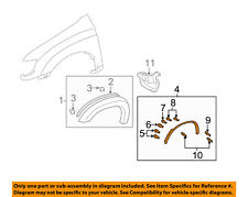 TOYOTA OEM Tundra Front Fender-Wheel Well Flare Arch Molding Right 750850C050