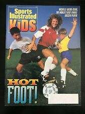 September 1992 Sports Illustrated For Kids Hot Foot! Magazine Michelle Akers